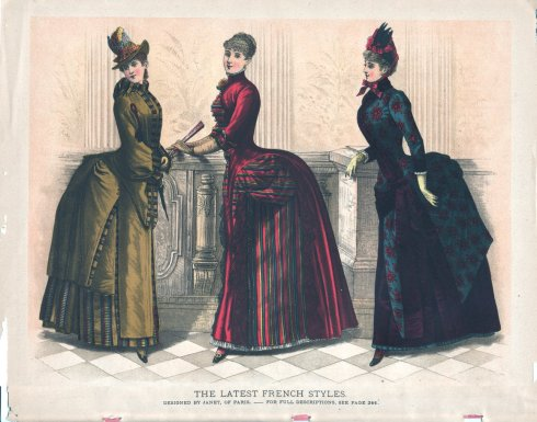 Bustles - the best, right? Baby got back, etc.