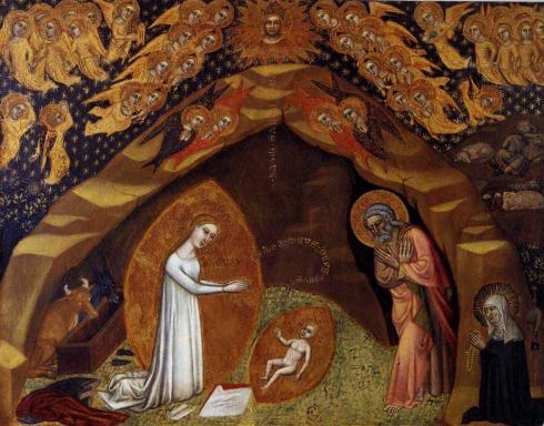 Niccolo_di_Tommaso-St_Bridget_and_the_Vision_of_the_Nativity