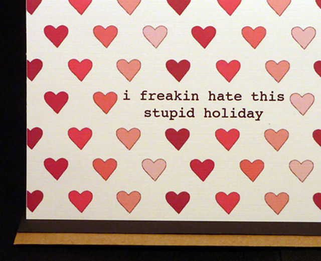 Shrevolution Or I Hate Valentines Day – I Hate Valentines Day Cards