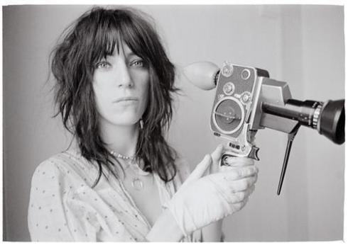 Patti+Smith+beautiful+with+camera