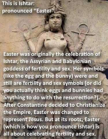 Easter Is Not Named After Ishtar, And Other Truths I Have To Tell You | The  Belle Jar