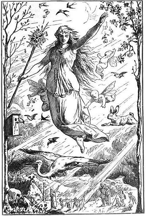 Ostara by Johannes Gehrts