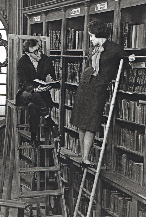 library-old-photography-vintage-woman-woody-allen-Favim.com-102666