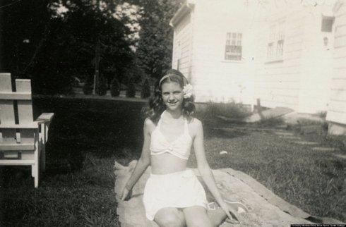 Young Sylvia Plath