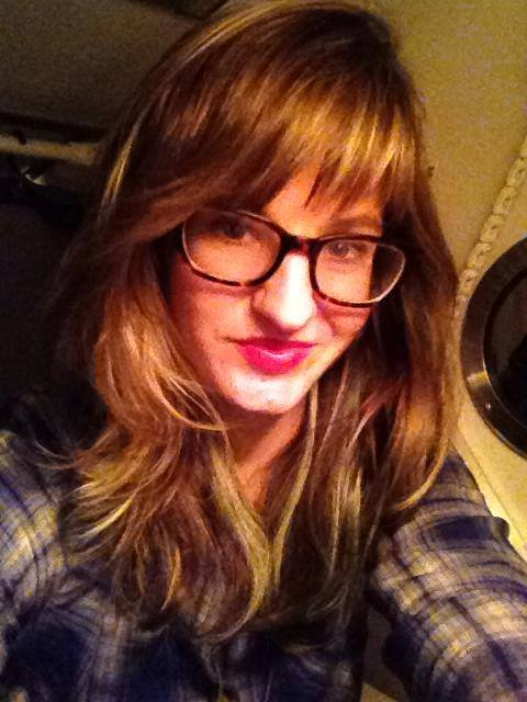 Train selfie. Sorry.